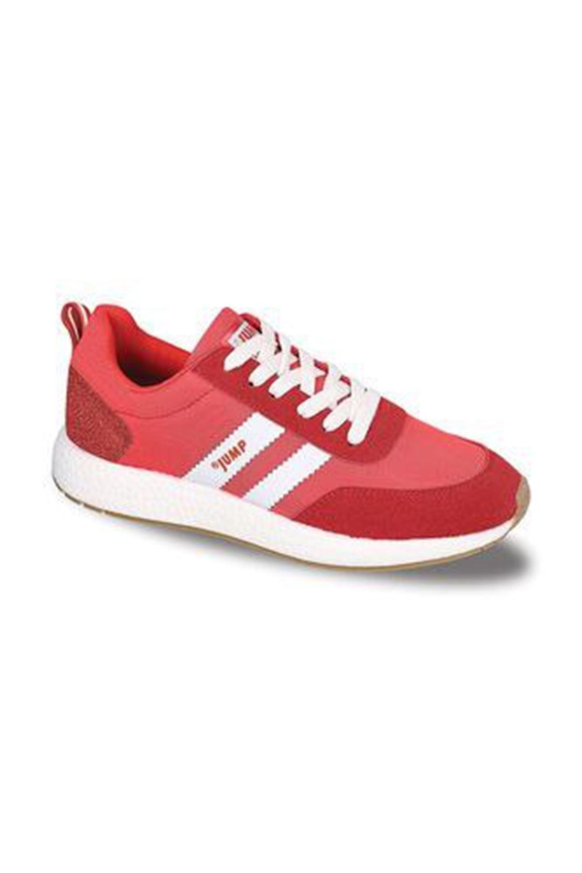 Kırmızı Erkek Spor Ayakkabı Rahat Hafif 26396