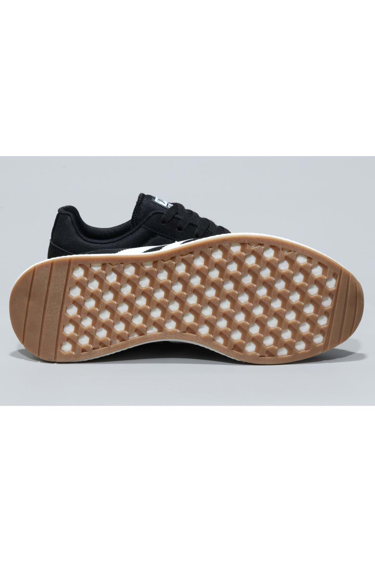 Siyah Erkek Spor Ayakkabı Rahat Hafif 26396