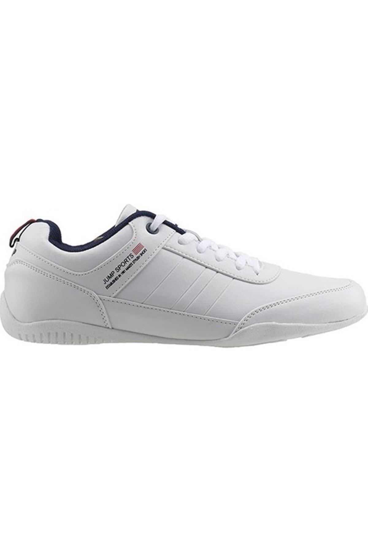 Jump 19700 Beyaz Erkek Casual Ayakkabı