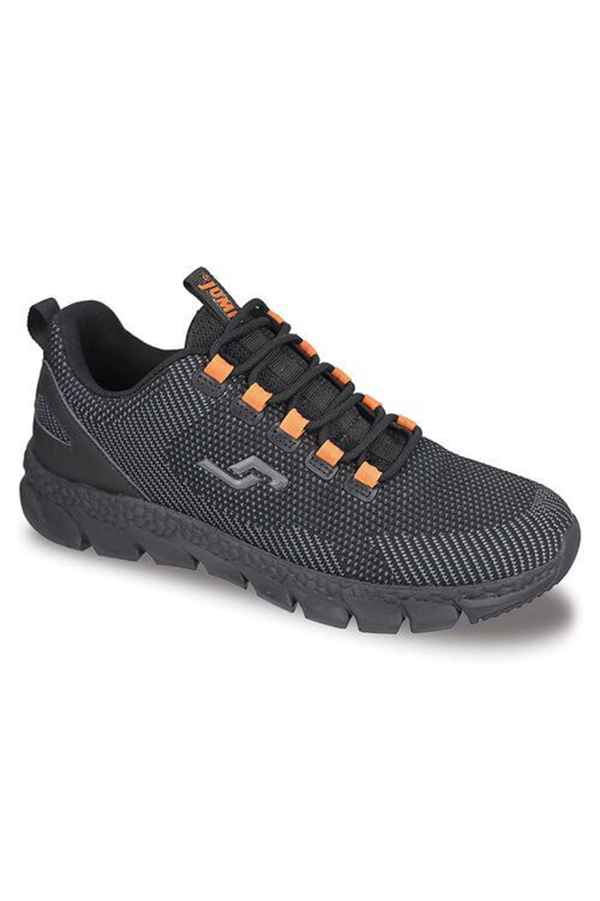 Kırçıl Modelli Siyah Erkek Spor Ayakkabı