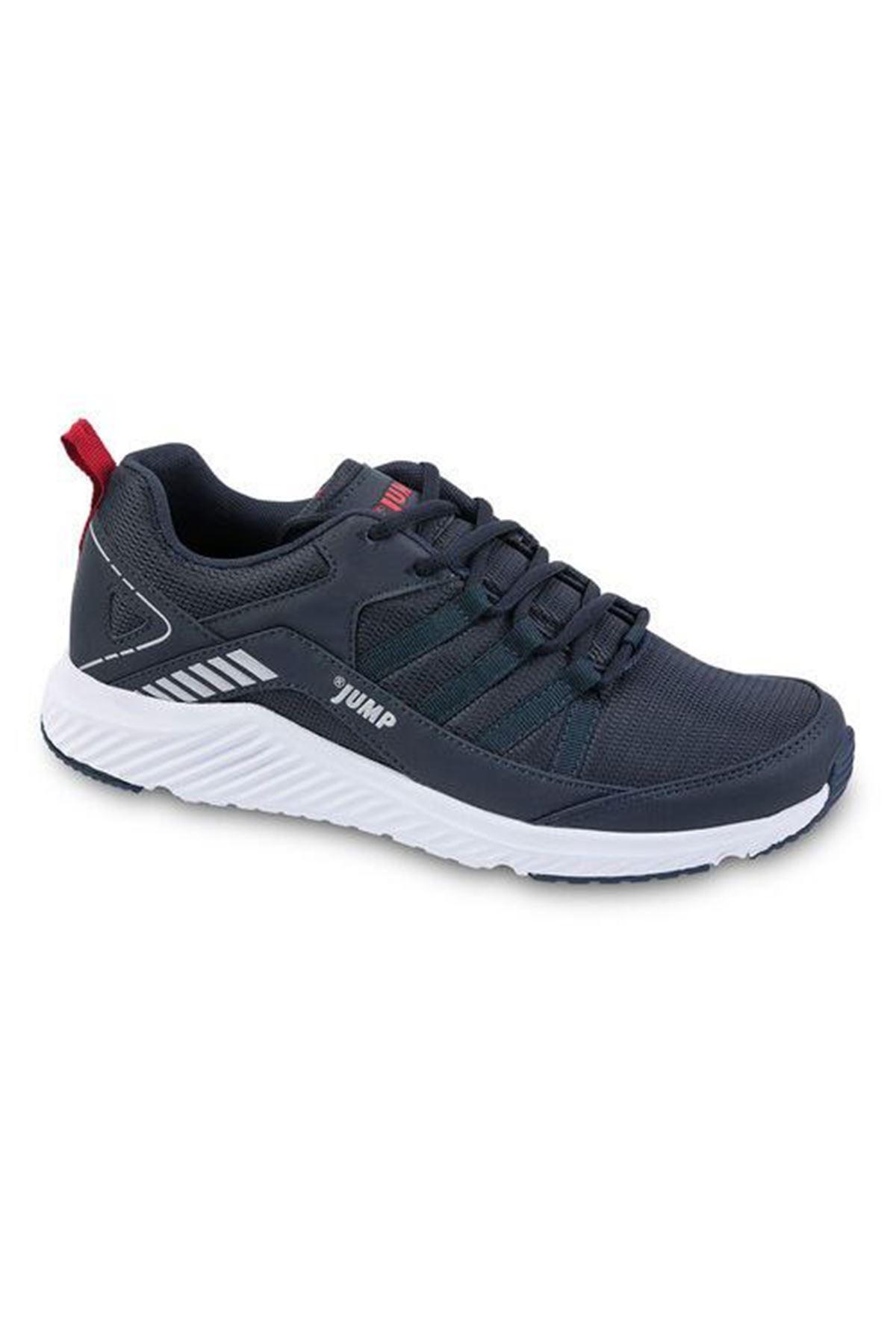 Lacivert Erkek Spor Ayakkabı Fileli Rahat 24865