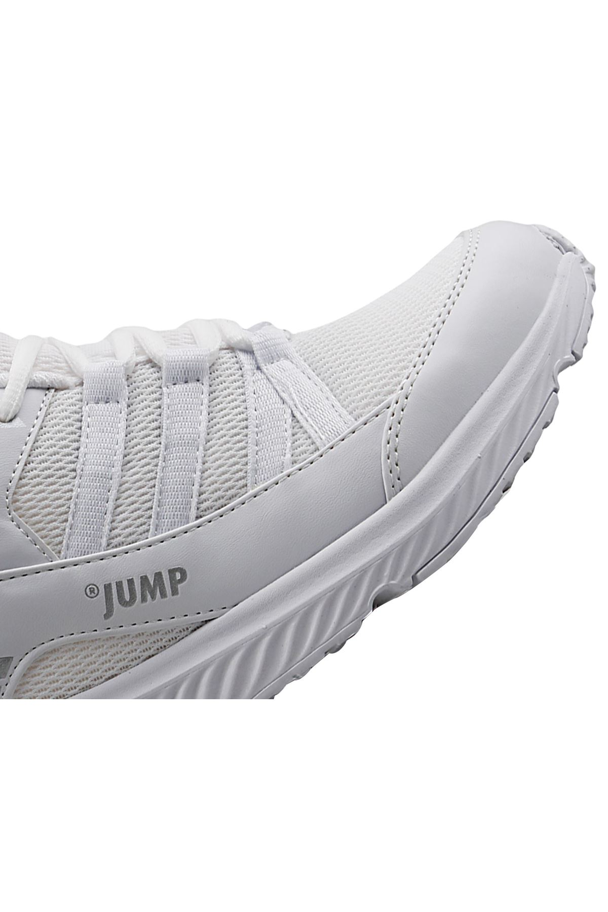 Beyaz Erkek Spor Ayakkabı Fileli Rahat 24865