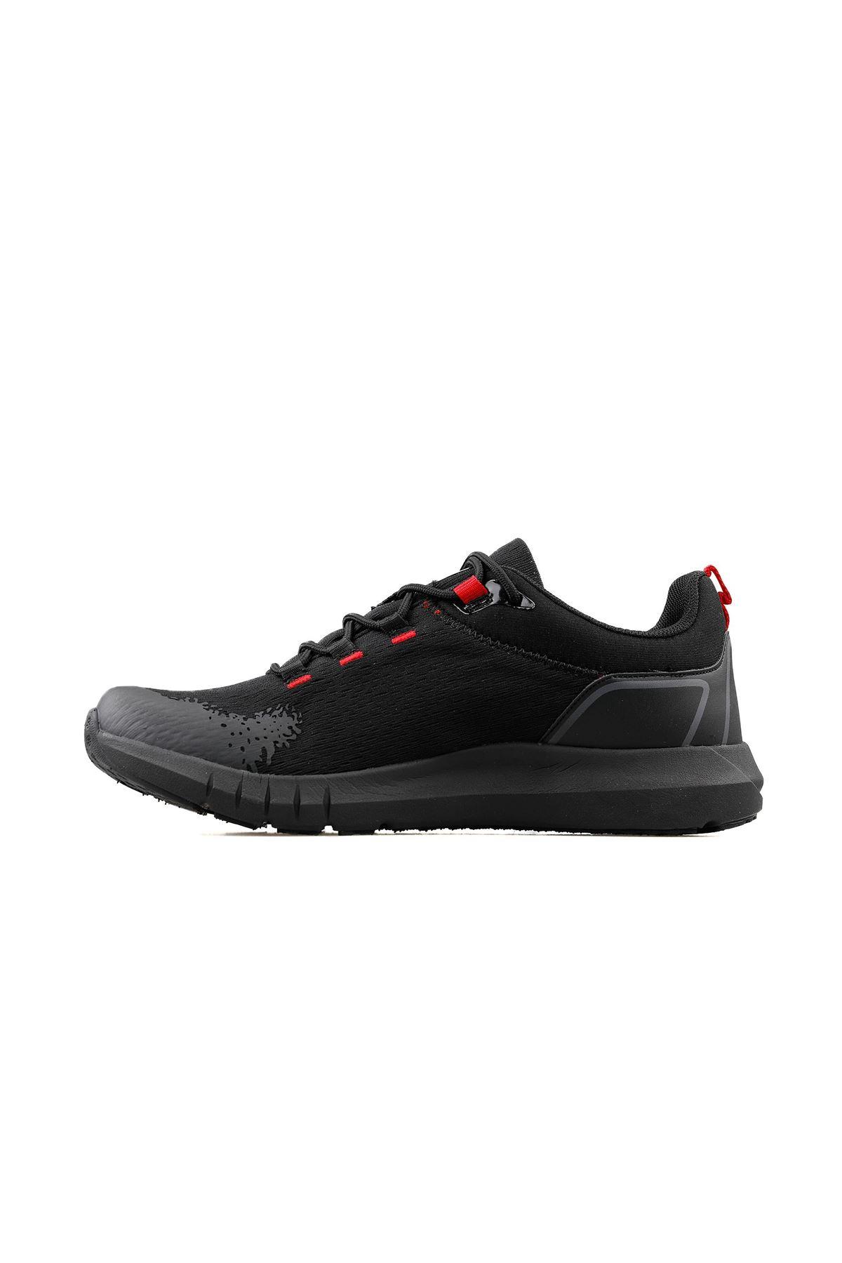 Jump Fileli Rahat Erkek Spor Ayakkabı SİYAH 26402