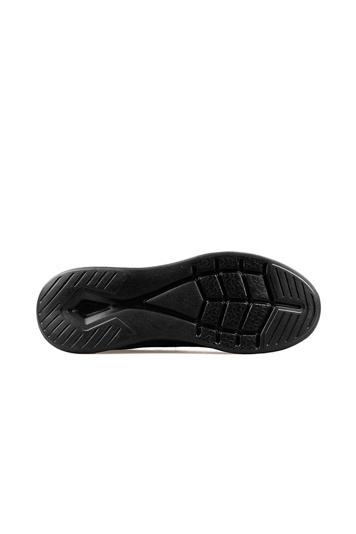 Jump Fileli Rahat Erkek Spor Ayakkabı SİYAH 24784