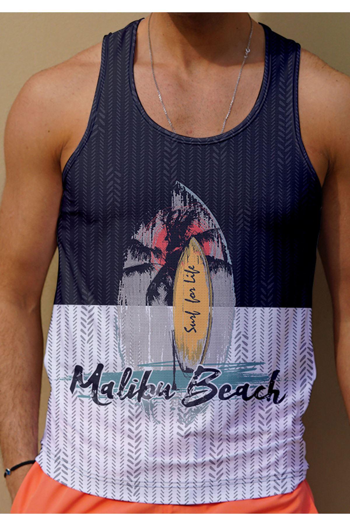 Erkek Atlet T-Shirt Miami Beach